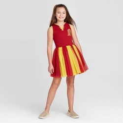 Girls' Harry Potter Gryffindor Dress - Red
