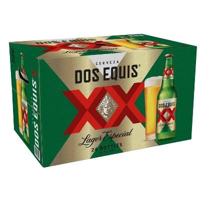 Dos Equis Mexican Lager Beer - 24pk/12 fl oz Bottles