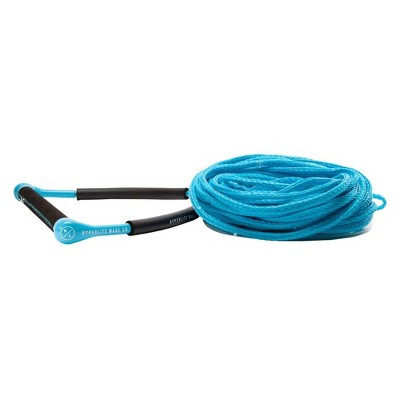 Hyperlite CG 75 Foot Wakeboarding, Kneeboarding, and Water Skiing Handle with Fuse Line Rope for Wakeboard, Kneeboard, and Ski Tow Boat Boating (Blue)