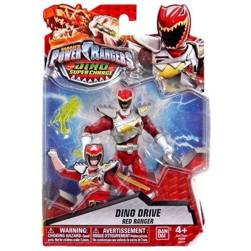 "Power Rangers Dino Charge 4/"" Red Ranger Action Figure  …"