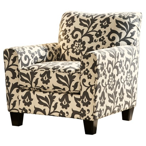 Prime Levon Accent Chair Charcoal Signature Design By Ashley Home Interior And Landscaping Elinuenasavecom