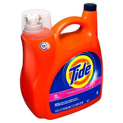 Tide Fresh Coral Blast Liquid Laundry Detergent - 150 fl oz