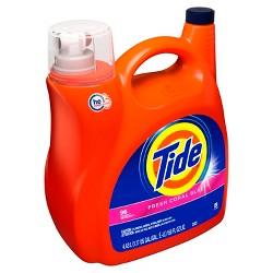 Tide Fresh Coral Blast Liquid Laundry Detergent - 150 fl oz