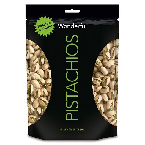 Wonderful Pistachios Roasted & Salted - 20oz - image 1 of 2