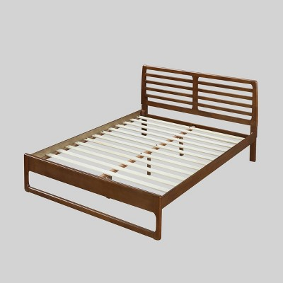 Queen Cindy Transitional Low-Profile Platform Bed - Christopher Knight Home