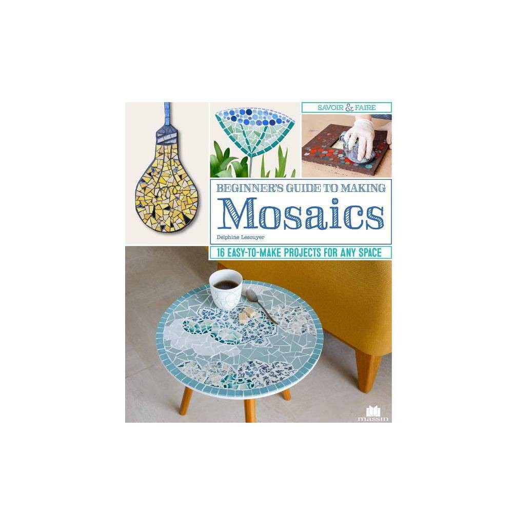 Beginner S Guide To Making Mosaics By Delphine Lescuyer Paperback