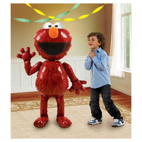 """Elmo AirWalker 54"""" Foil Balloon - image 1 of 1"""