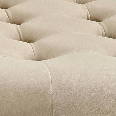 Surprising Isabelle Round Tufted Ottoman Alphanode Cool Chair Designs And Ideas Alphanodeonline