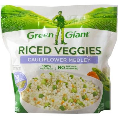 Green Giant Riced Frozen Veggies Cauliflower Medley - 10oz