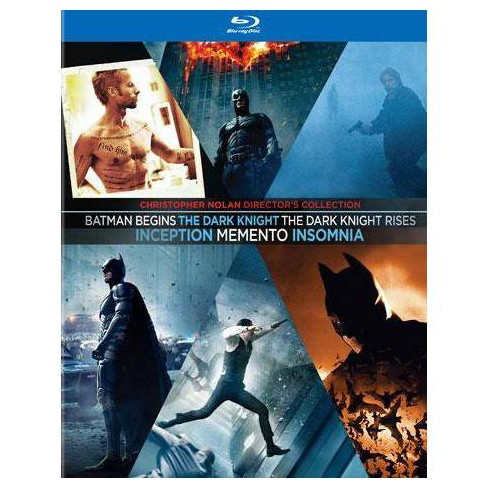 Christopher Nolan Director's Collection (6 Movies) (Blu-ray) - image 1 of 1