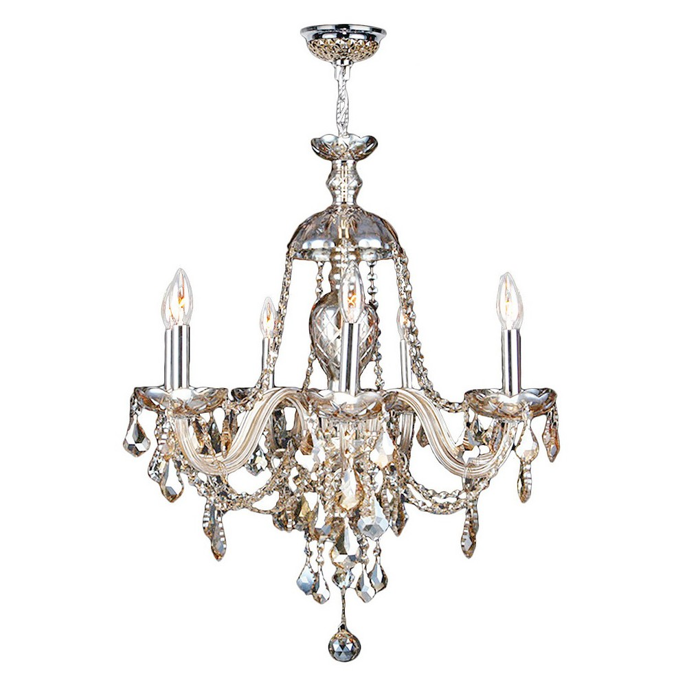 World Wide Lighting Ceiling Light - Silver/Gold (14 X 22 X 13), Gold/Silver