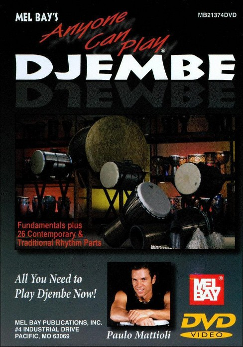 Anyone can play djembe (DVD) - image 1 of 1