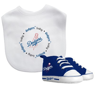 Los Angeles Dodgers Bib & Prewalker Gift Set