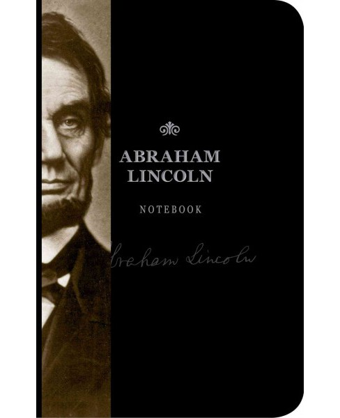 Abraham Lincoln Notebook (Hardcover) - image 1 of 1