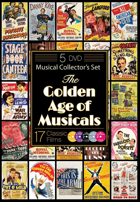 Golden age of musicals (DVD) - image 1 of 1