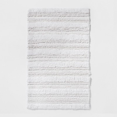 Multi-Texture Bath Rug Fresh White - Threshold™