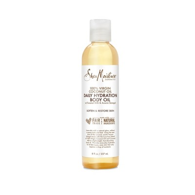 SheaMoisture Coconut Body Oil - 8oz