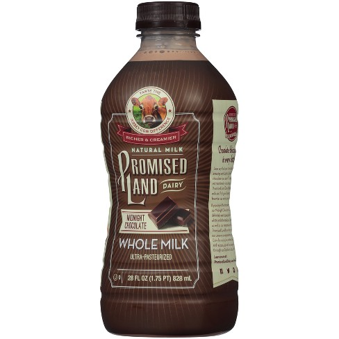 Promised Land Midnight Chocolate Flavored Whole Milk - 28 fl oz - image 1 of 2