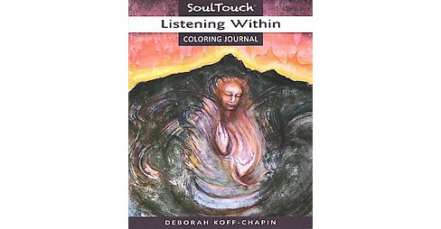 Listening Within Adult Coloring Book - image 1 of 1