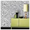 Speckled Dot Peel & Stick Wallpaper Black - Opalhouse™ - image 2 of 4