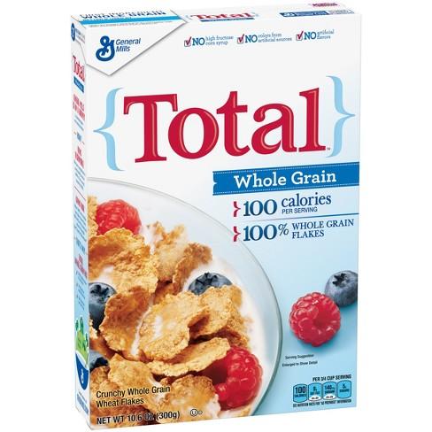 total whole grain breakfast cereal 10 6oz general mills target