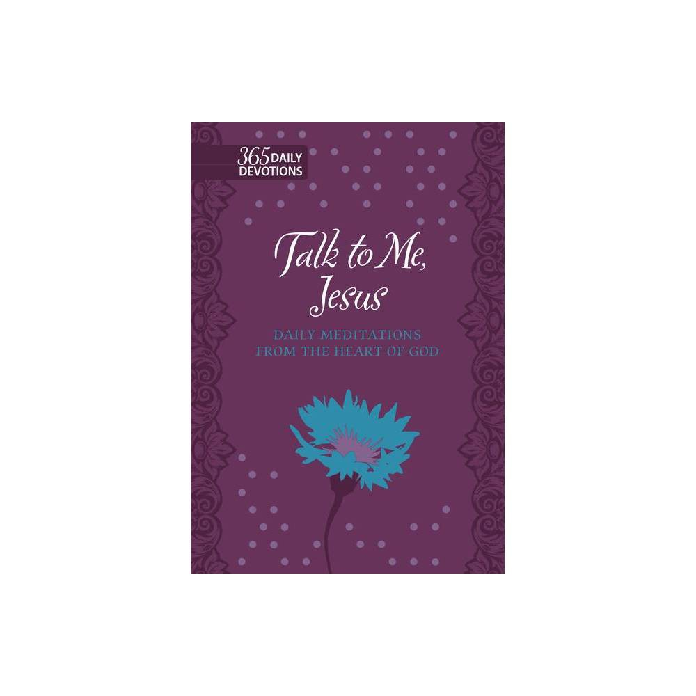 Talk To Me Jesus By Marie Chapian Leather Bound
