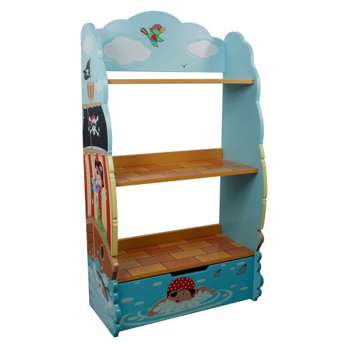 Fantasy Fields Pirate Bookshelf Wood - Teamson - image 1 of 6