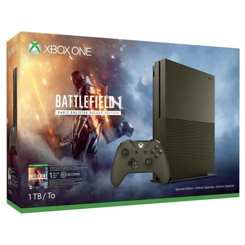 d917b28da2b Xbox One S 1TB Battlefield™ 1 Special Edition Bundle   Target