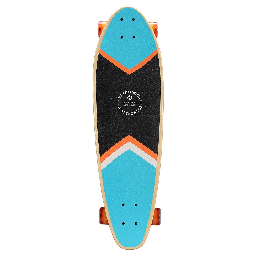 Kryptonics 33 W Concave Longboard – Three Palms, Blue