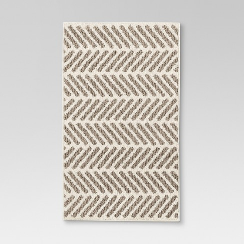 Chevron Accent Rug Threshold Target