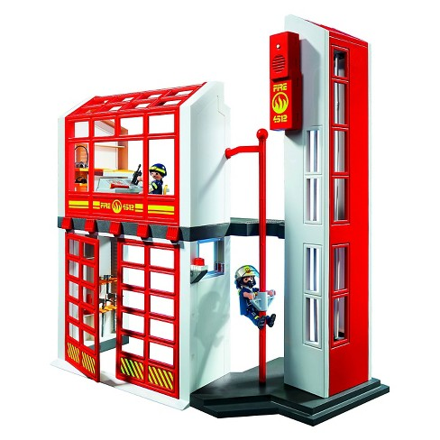 Playmobil Fire Station with Alarm - image 1 of 2