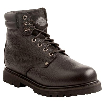 Dickies Men's Raider Genuine Leather Work Boots - Black 10