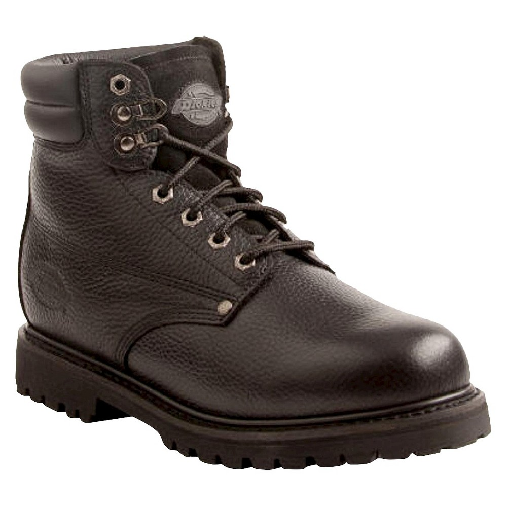 Men's Dickies Raider Genuine Leather Work Boots - Black 9.5