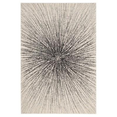 Evoke Rug - Black/Ivory - (9'x12')- Safavieh
