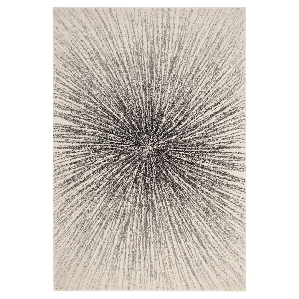 Evoke Rug - Black/Ivory - (5'1
