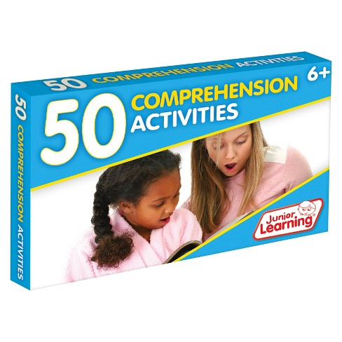 Junior Learning® 50 Comprehension Activities Learning Set - image 1 of 3