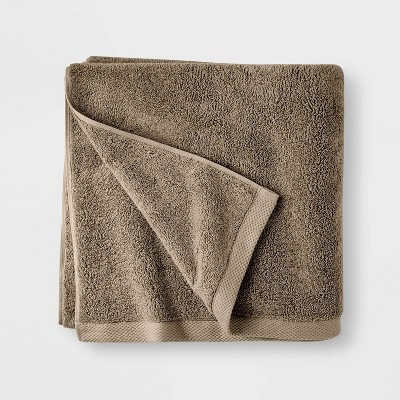 Organic Bath Towel Dark Sand - Casaluna™