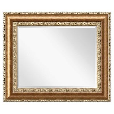 "37"" x 31"" Vienna Bronze Framed Wall Mirror - Amanti Art"