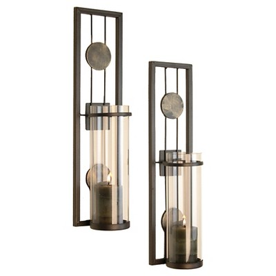 2pc Contemporary Wall Sconces Set - Danya B.®
