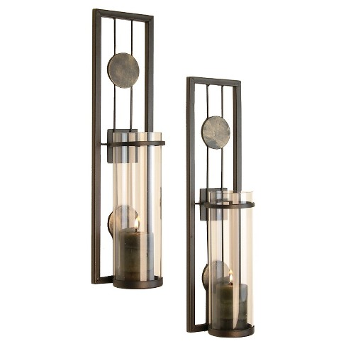 2pc Contemporary Wall Sconces Set - Danya B.® - image 1 of 1