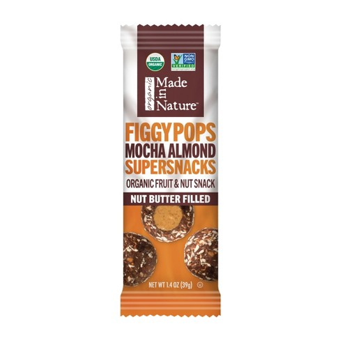 Made in Nature Mocha Almond Filled Figgy Pops - 1.4oz Bag - image 1 of 1
