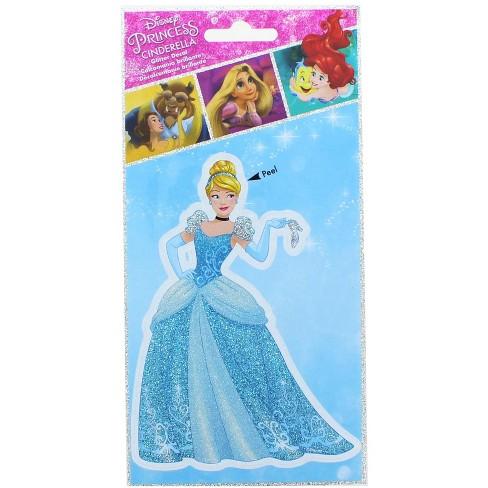 Alterego Disney Princess Cinderella 4 x 8 Inch Glitter Decal - image 1 of 2