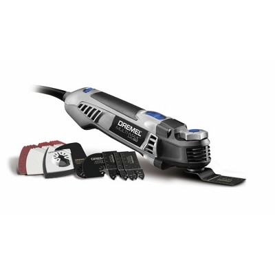 Dremel MM50-DR-RT Multi-Max 5 Amp Tool-Less Oscillating Tool Kit with Accessory Set Manufacturer Refurbished