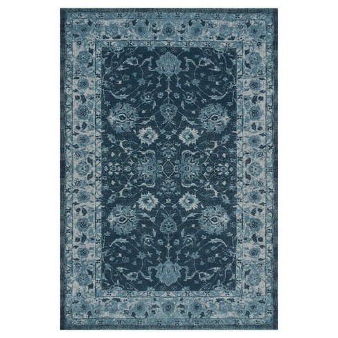 Teal Abstract Woven Area Rug 7 10 Quot X10 8 Quot Target