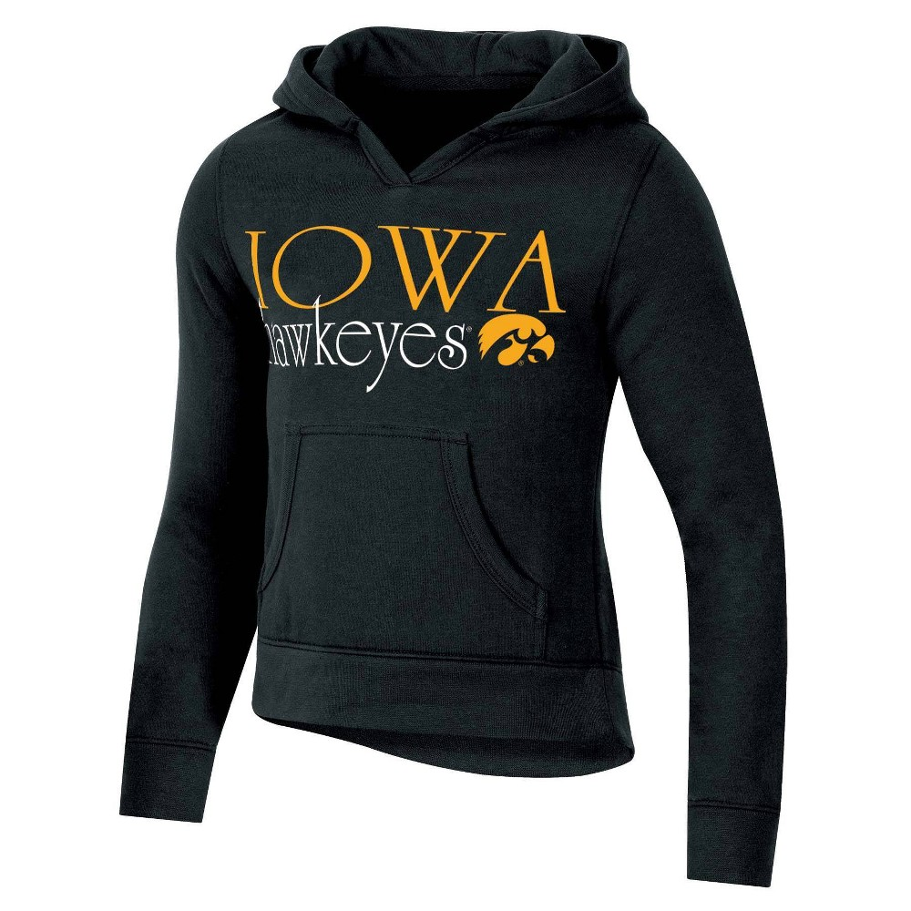 Ncaa Iowa Hawkeyes Girls 39 Split Neck Hoodie Xl