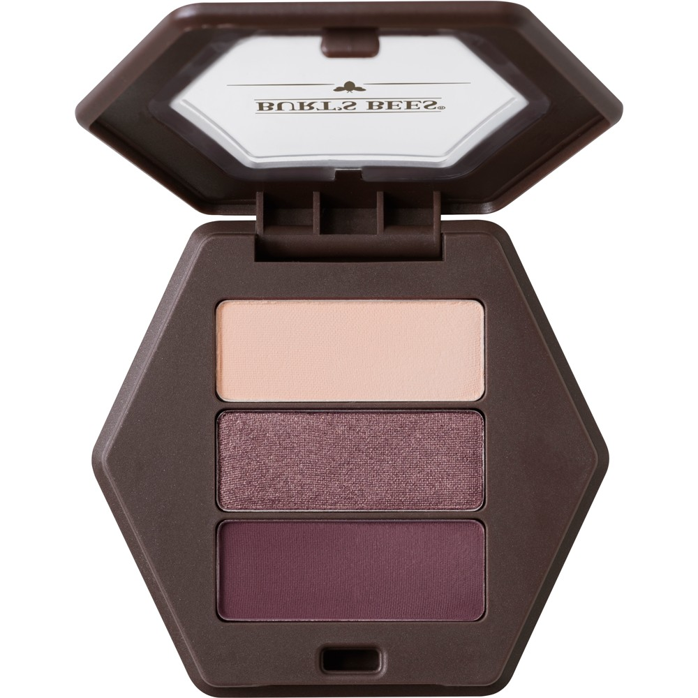 Image of Burt's Bees 100% Natural Eye Shadow Palette with 3 Shades - Countryside Lavender - 0.12oz