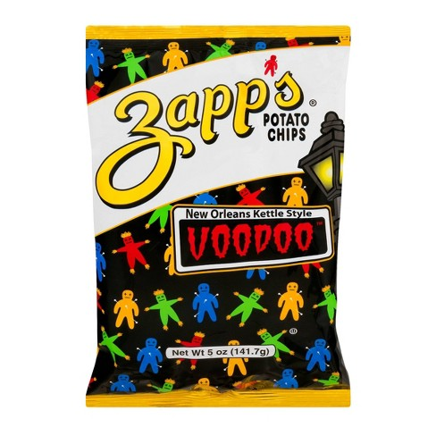 Zapp's New Orleans Kettle Style Voodoo Potato Chips - 5oz - image 1 of 3