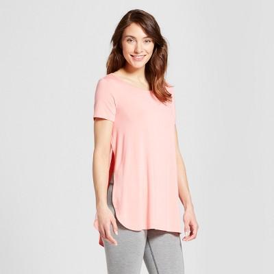 Women's Nursing Sleep T-Shirt - Gilligan & O'Malley™ Pom Pom Pink L