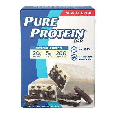 Pure Protein Bar - Cookies and Cream - 6ct