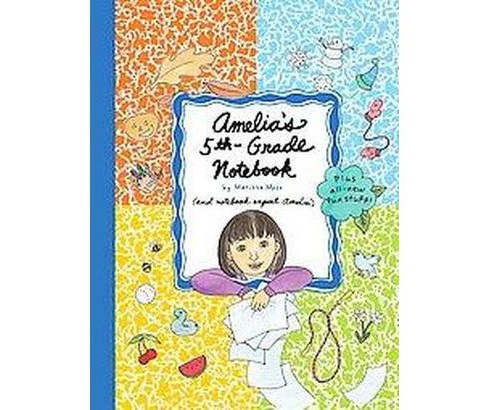Amelia's 5th- Grade Notebook (Hardcover) (Marissa Moss) - image 1 of 1